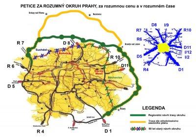 Petice za rozumný okruh Prahy